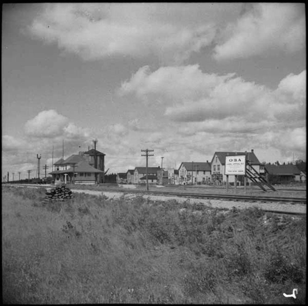 Oba, Ontario circa 1941